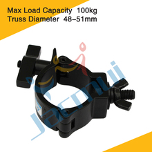 """Quick Fastener 2"""" 100kg Wing Nut And Bolt Clamp For Led Stage Lights"""