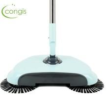 Congis Stainless Steel Sweeping Machine Magic Broom Dustpan