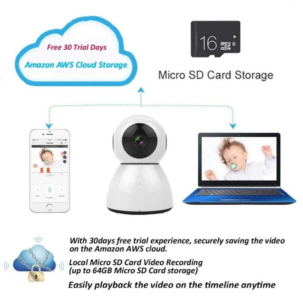 1080 p 2MP беспроводной домофон PTZ IP камера