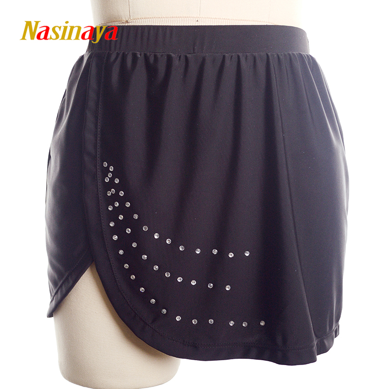 Nasinaya Figure Skating Short Skirt For Girl Kids Women Training Dress Customized Patinaje Costume Gymnastics Ice Skating 4