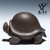 The Supply Of Tea Pet Turtle General Sculpture Ornaments Zisha Tea Pet Tea Accessories Store Mixed
