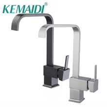 KEMAIDI Kitchen Basin Sinks Faucet  New ORB & Chrome Polished Black Brass Swivel 360 Degree Rotating Kitchen Mixer Tap