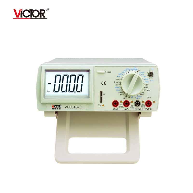 VICTOR VC8045-II High-Precision 4 1/2 Desktop Digital Multimeter With AC True RMS Digital Multimeter  цены