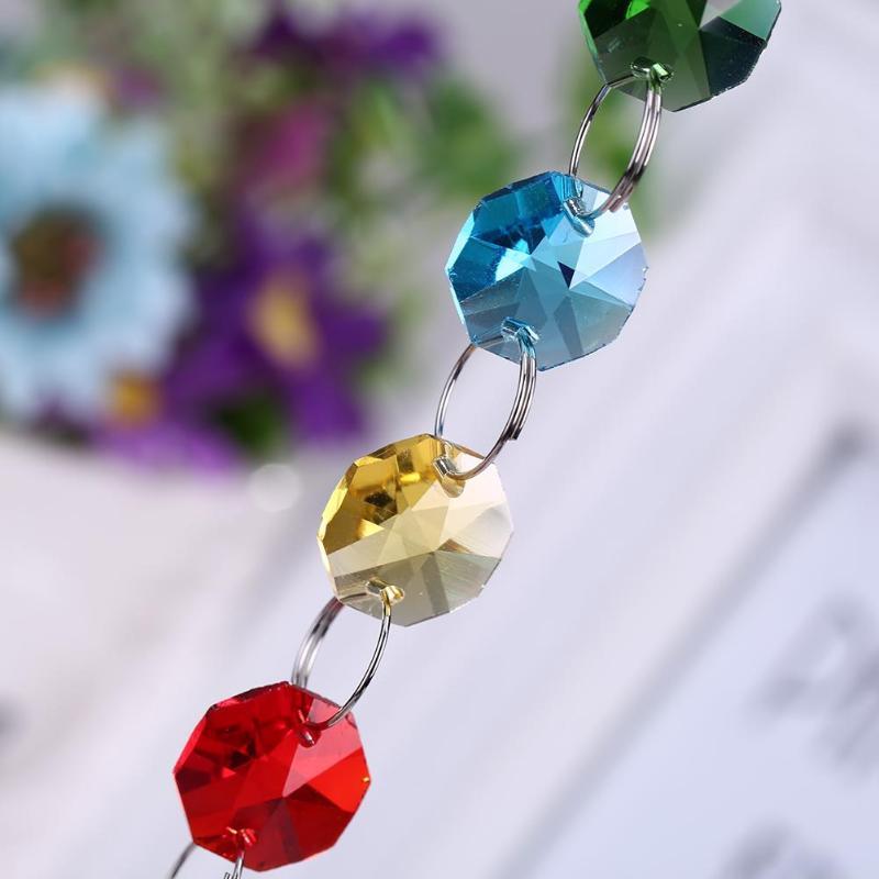 Красочная чакра, хрустальная люстра, хрустальная люстра, шар, призма, подвеска, Радужный производитель, подвесная чакра, каскад, Ловец Солнца