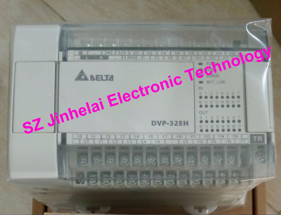 100% New and original DVP32EH00T3-L,  DVP32EH00R3-L  Delta PLC 32points host,16DI/16DO euro kitchen lv044 white насадка для набивки колбас