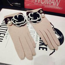 Autumn Winter Women Gloves Female Fashion Mittens Luvas De Inverno Wrist Warmers Luvas Feminina Handschuhe ZS-AGB315