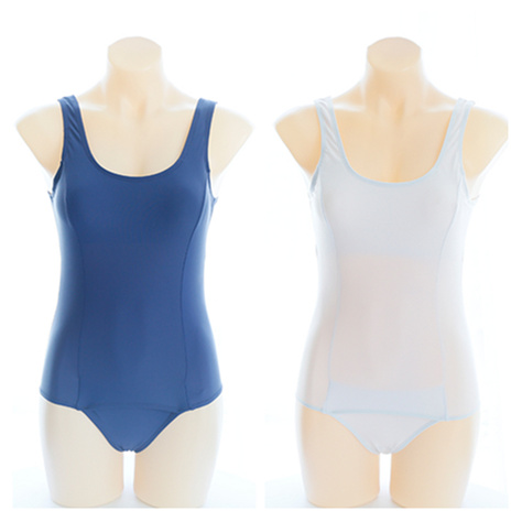 Japanese School Girls Swimming Wear Seifuku One-piece Swimsuit Summer Solid Color Nylon Swimsuit цена