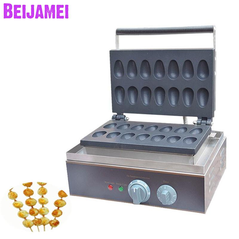 BEIJAMEI high efficiency commercial mini egg waffle cake making machine 110v 220v electric industrial quail egg waffle makerBEIJAMEI high efficiency commercial mini egg waffle cake making machine 110v 220v electric industrial quail egg waffle maker