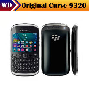 Refurbished Unlocked BlackBerry Curve 9320 mobile phone WiFi GPS Bluetooth Mobile