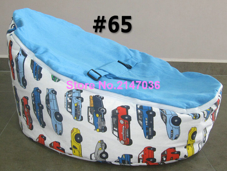 Race Car Baby Bean Bag Chair Blue Chevron Kids Harness Beanbag Sofa Seat Cotton Strollers In Living Room Sofas From Furniture On Aliexpress