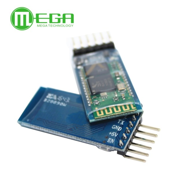 Orignal 5 pçs/lote HC05 JY MCU anti reverso, módulo pass through serial Bluetooth integrado, HC 05 master slave 6pin
