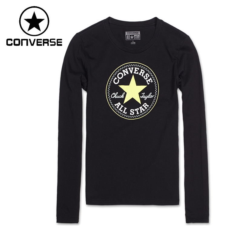 Original Converse Women's T-shirts Long Sleeve Sportswear