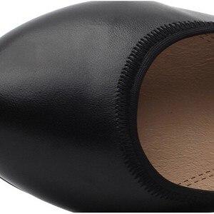 Image 5 - TIMETANG Super Soft & Flexible Pumps Shoes Women OL Pumps Spring Mid Heels Offical Comfortable Shoes Size 34 43 C330