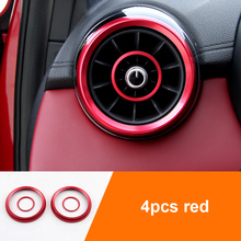 for MG HS 2018-2019 Air conditioning outlet decoration Ignition Switch Decorative Ring
