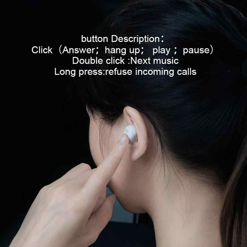Eastvita BL1 Bluetooth наушники Беспроводной Наушники Mini Музыка динамик беспроводные Bluetooth гарнитура с микрофоном зарядки коробка для телефона