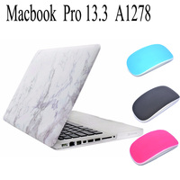 New Hard PC For Macbook Pro 13 A1278 Laptop Case Marble Texture Cover For Macbook Pro