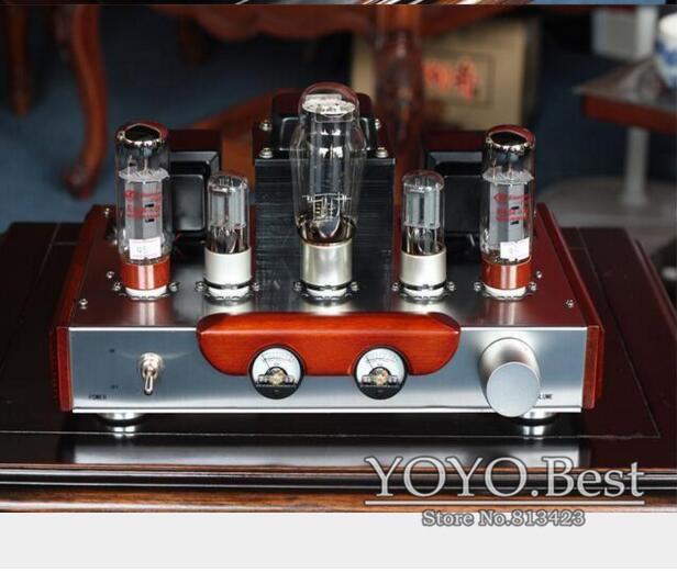 Hot Sell EL34 Valve Tube Amplifier Stereo Hi-Fi Single-ended Class A Power Amp High-end Brushed Metal Panel Amp 110V/220V music hall pure handmade hi fi psvane 300b tube amplifier audio stereo dual channel single ended amp 8w 2 finished product