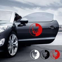 Cool Car Stickers and Decals Dog Style Auto Decoration Body Scratch Cover Reflective Styling Accessories 12*12CM