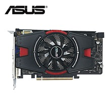 Used,original ASUS GTX 550Ti real 1G GDDR5 192bit  HD video card,100% tested good!