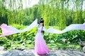 Las mujeres de la dinastía tang dinastía qing dress ancient chinese hanfu ropa mujeres mujeres vestidos ropa tradicional danza dress