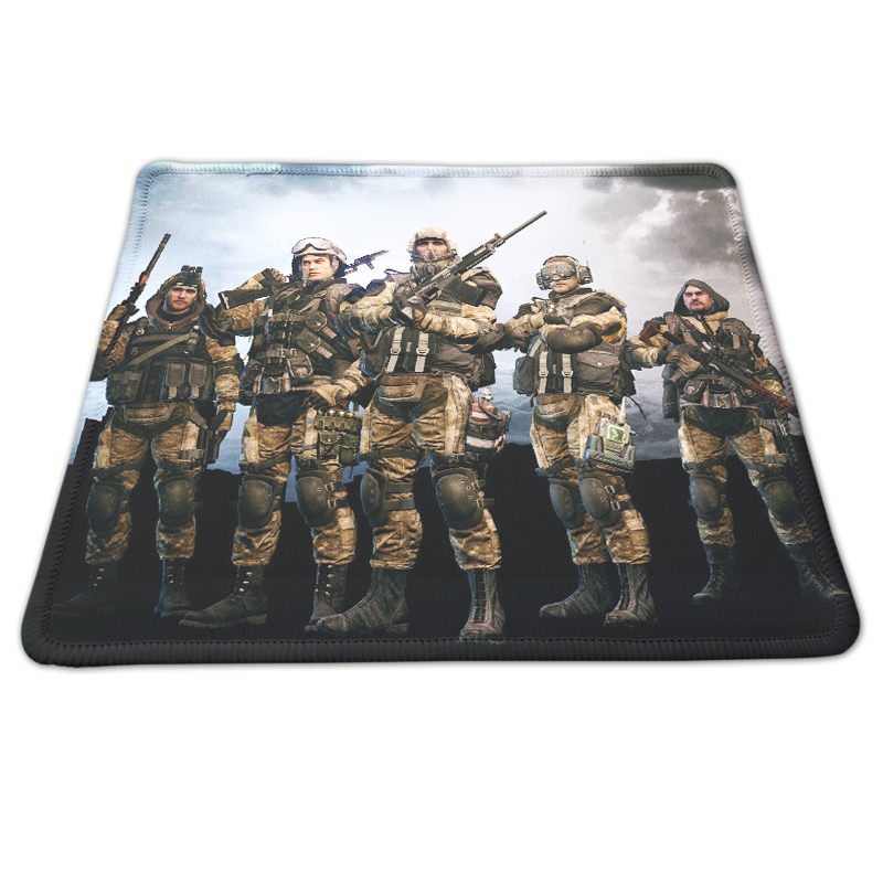 Cool Style Warface Custom Printing Mousepad Large Gaming Mouse Pad Soft Anti-slip PC Computer Gamer Speed Optical Desk Mice Mat