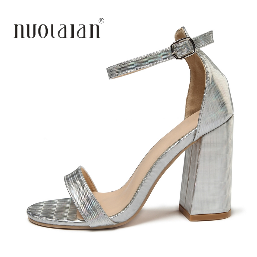 Mujer 2019 Moda De 42 Kutf1clj3 Size35 Zapatos Sandalias Tacón rxedCBo