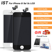 AAAA 100 IST Original Screen LCD For IPhone 5s 5 5c LCD Display Digitizer Screen Quality