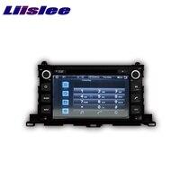Per Toyota Highlander/XU50 serie LiisLee Car Multimedia TV DVD GPS Audio Stereo Hi-Fi Radio Originale Stile di Navigazione NAV