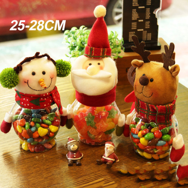 Us 886 5 Offkerstversiering Creatieve Kerst Snoep Blikjes Kinderdagverblijf Kerst Zakken Gift Blikjes De Beste Cadeau Voor Kinderen In