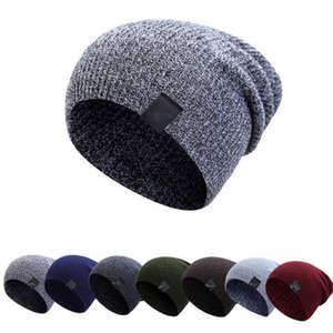 3bad719499f HIRIGIN 2018 Mens Women Winter Hat Beanie Warm Casual Caps