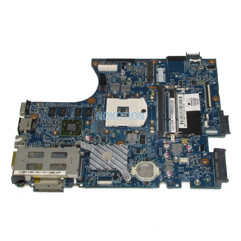 NOKOTION 633552-001 598668-001 628794-001 Laptop mainboard For hp probook 4720S 4520S Notebook pc Motherboard 48.4GK06.041 laptop motherboard 605903 001 fit for hp g62 cq62 notebook pc mainboard ddr3