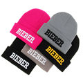 Wholesale & Retail 2016 Fashion Winter Autumn Acrylic Knitted Solid Cap Justin Bieber Beanie Hats For Men Women Girl Toucas