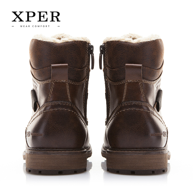 Brand Autumn Winter Motorcycle Men Boots 3
