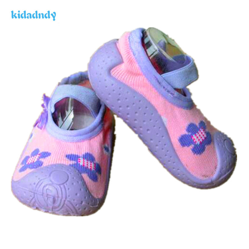 Summer Soft Bottom Floor Socks Footwear Baby Shoes Children'S Shoes First Walkers Toddler Shoes LL856