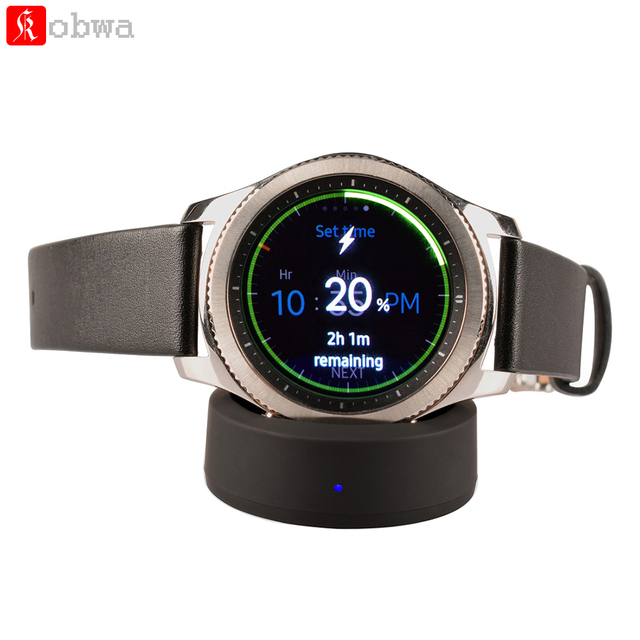 For Samsung Gear S3 and Gear S2/S2 Classic Wireless Charger Qi Wireless Charger Charging Dock Cradle Replacement Micro USB Cable