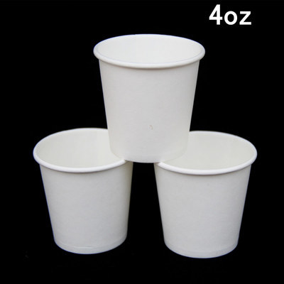 Free Shipping 4 Oz Disposable Cups Thick Tasting Concentrated Color Cup Coffee Paper For 100ml In Saucers From Home