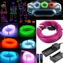 Waterproof Flexible Rope Tube LED Strip String light Wire Neon Light Dance Holiday Party Decor Novelty lamp
