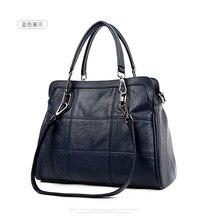 WANU Горячий продавать 100% кожа женская сумка овчины женская сумка женщины сумка черный мода топ-ручка мешки(China (Mainland))