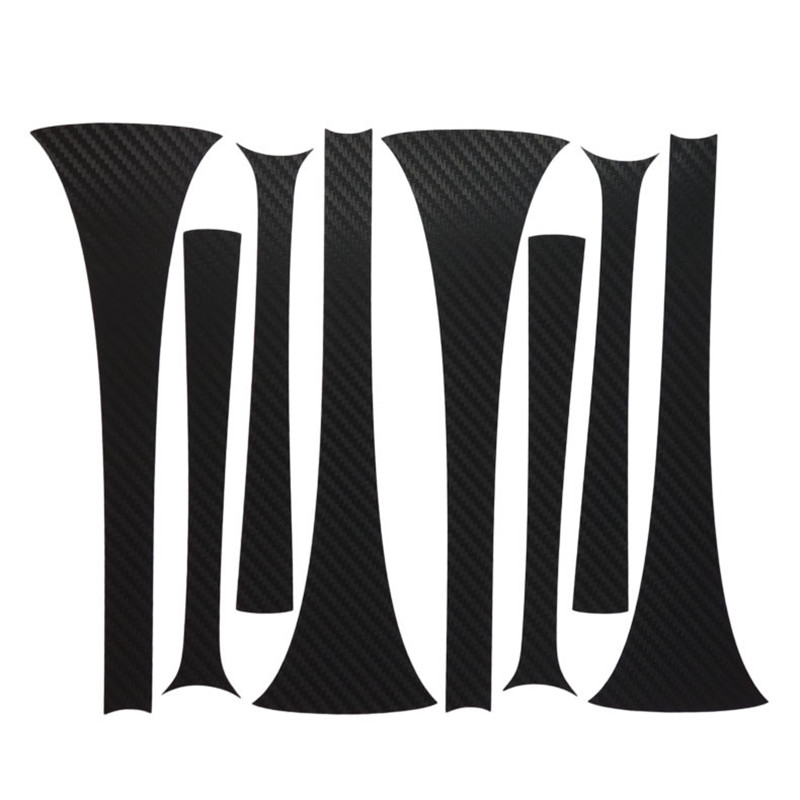 Savanini Car-Styling 1set 19 Inches Carbon Fiber Wing Wheels Mask Decal Sticker Trim For Toyota Highlander P Style