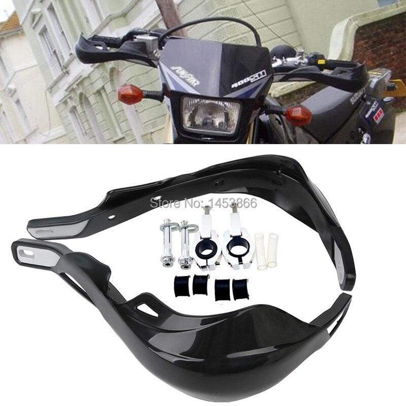 Nero Paramani Manubrio Mano Guardie Fit Moto Motocross Dirt Pit Bike Off Road CRF YZF KXF KTM RMZ ATV EXC Supermoto