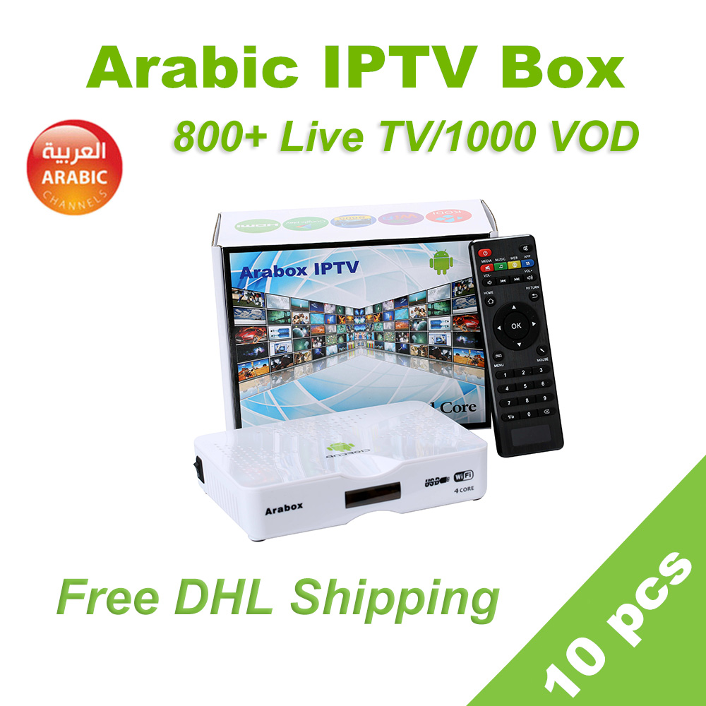 10 pcs Arabic IPTV Box free DHL shipping support IPTV Arabic/Swedish/Africa tv box,free for lifetime arabic iptv Smart tv box10 pcs Arabic IPTV Box free DHL shipping support IPTV Arabic/Swedish/Africa tv box,free for lifetime arabic iptv Smart tv box