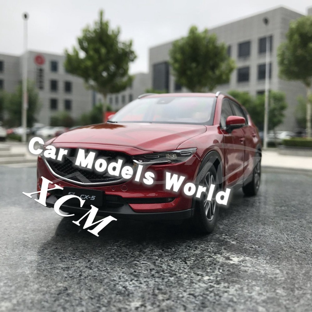 Diecast Car Model for All New CX 5 CX5 Generation 2 1 18 Red SMALL GIFT