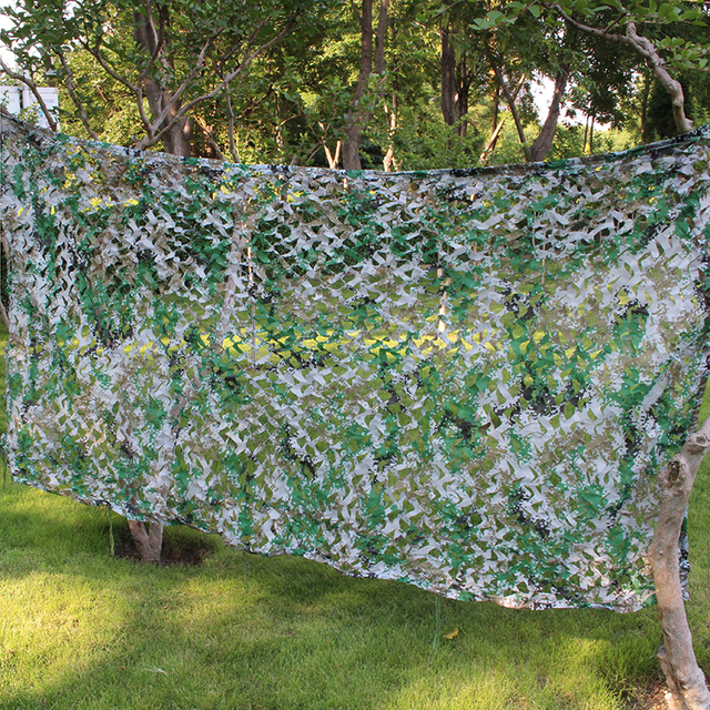 Woodland Digital Camo Netting 3D Digital Net Ultra-Lite - Sized Heavy Duty Arcturus Camo Digital Blind with Mesh Support Grid