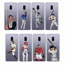 soft silicone phone cases cover baseball cartoon Bryce Harper for Samsung A6 A8 A9 2018 A7 2017 Plus pro 2016