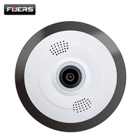 FUERS 960P Ip Camera 360 Degree Panoramic Home Security Mini Camera Wifi P2P Fisheye Surveillance Cameras