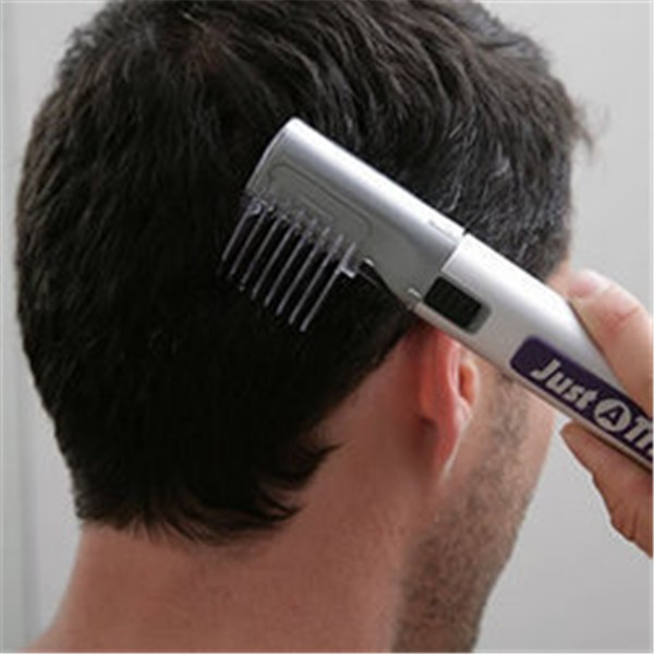 Free Shipping Portable Just A Trim Electric Hair Clipper