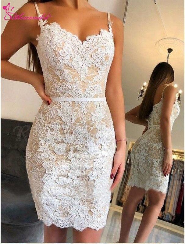 Alexzendra Mini Lace   Prom     Dresses   2019 Short Party   Dresses   Plus Size Customize