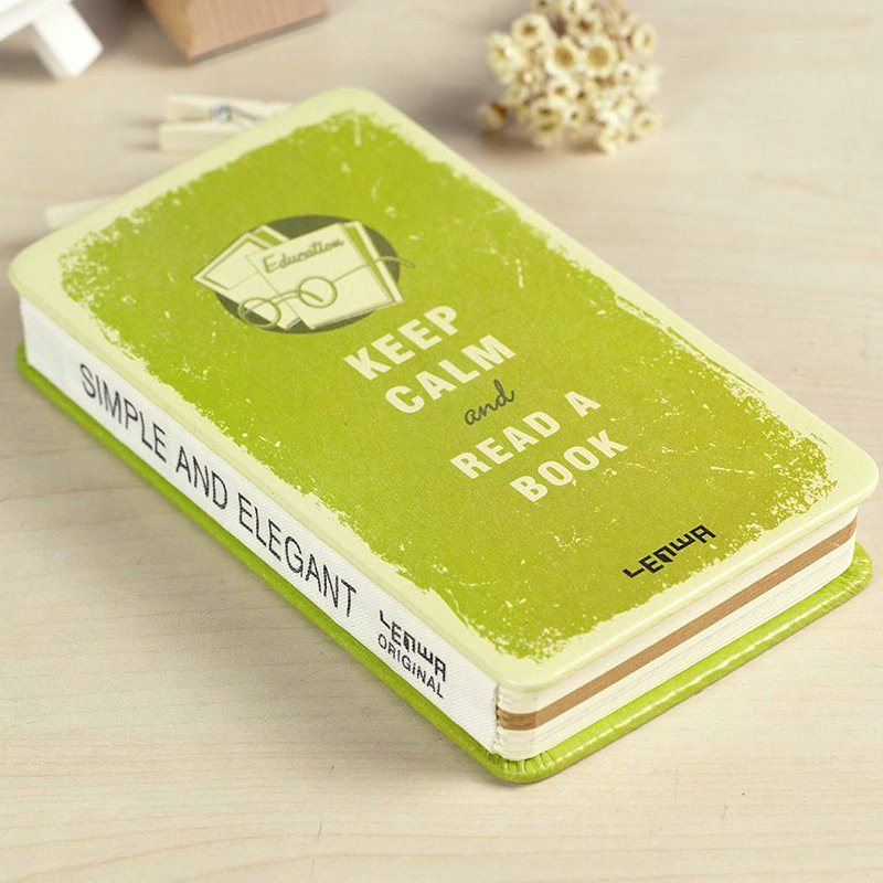 Classic Keep Calm and Read A Book A5 Notebook  Agendas  Hard Cover Diary Journal Gift