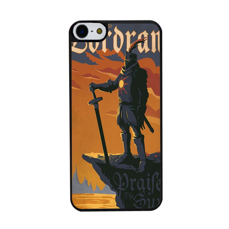 Dark Soul Lordran Astora Knight New Arrival Painting Cover Case for iphone 5C