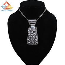 (1pieces / lot) 100% environmentally friendly materials neutral pendants, antique silver plating